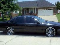I'm selling my baby a 95 Impala SS with the LT1 engine.
