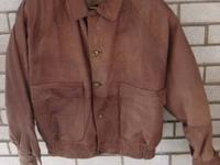 I am selling very fine and fashionable leather jackets