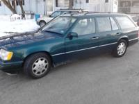 95 mercedes e320 for sale for 1000 obo. car has miss,