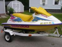 95 Sea Doo XP Bombardier with trailer Does not Run..