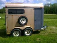 95 TB bumber pull horse trailer for sale, New breaks,