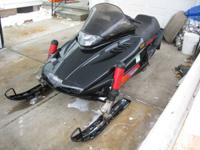 I have for sale my 95 Vmax 600 twin snowmobile for