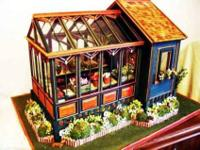 This is a custom-made 1/12 scale miniature building