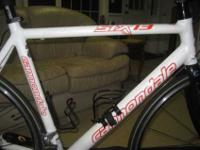 2008 Cannondale Six 13 6 Triple. Size 54cm. Bike in
