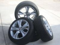These are Original Honda Accord rims and tires ( set of