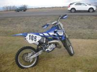 This is a steal on this cycle. Its a 1998 Yamaha yz125,