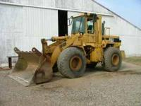 950-F Cat loader .new cutting edge ..9000 hrs.$45,000