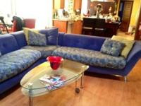 Contemporary Italian Sofa Set For Sale In South San