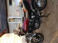 I have A Honda Sabre for sale asking $950 for it. It