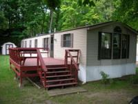 Bay Lake Mobile Home ON the lake. Lease the land and