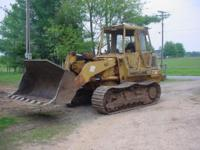1990 953 CAT TRACK LOADER 3204 4CYL TURBO WIDE TRACKS