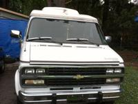 I have a very nice chevrolete gladiator van made by
