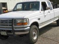 1996 Ford Heavy F250 3/4 Ton Diesel Pick UP Complete