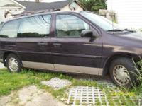 96 Ford windstar, 166,000 miles 6 cylinder, V6 Dark