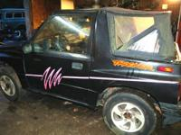 1996 Geo Tracker , no engine , no transmission , but
