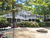 This exquisite Lake Winnipesaukee waterfront home