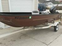 96 lakeland tri hull ideal starter watercraft and small