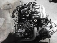 I have a 3.8 v6 engine that runs great and has very low
