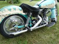1973 one of a kind old school custom 4 speed electric