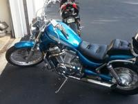 96 Suzuki Intruder VS800 with 15,xxx miles. Runs