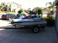 96 yamaha waverunner for sale or trade, 650cc, no