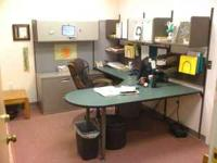 Six Fully Furnished Work Stations . Separate