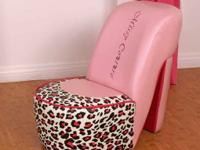 ▀▀▀MISSY COUTURE SHOE CHAIR ONLY $59,