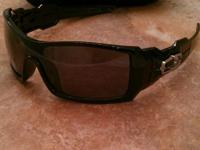 Brand new Oil Rig Style Sunglasses. Polished Black