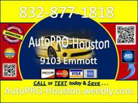 AutoPRO-Houston - We show we care . . ..  with Every