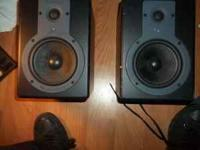 This a pair of studio monitors, they are in fairly good