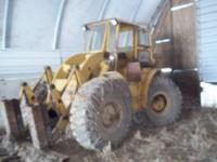 1960 966 Cat wheel loader 140 HP 28000# 3 yrd bucket +