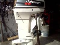 Very clean 1996 50 hp Johnson outboard complete w