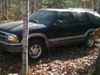 97 Blazer with blown motor. Selling as whole or parts.