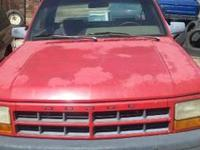 I HAVE A 1997 DODGE DAKOTA TRUCK FOR SALE FOR PARTS. ""