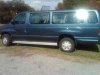 I have a 1997 Ford E350 club wagon passenger van it