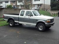 97 F-250 4x4 powerstroke heavy duty truck is a 5 speed