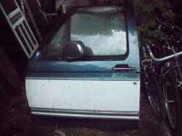 I have a 97 Ford F250 Driver's door. Asking $100. FOr