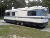 1997 HOLIDAY RAMBLER MOTORHOME, 34FT, SLEEPS (6) SIX,