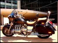 For your riding pleasure, a 1997 Honda Valkyrie Tourer