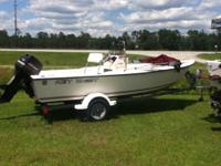 97 Key West 1720 Sportsman. The compression is