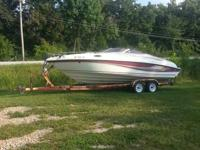 97 rinker captiva 232,new tires and wheels on