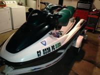 Im selling a 97 seadoo gtx 3 seater with trailer ski