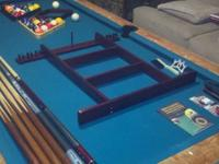 7? Valley drop pocket pool table (converted from a coin