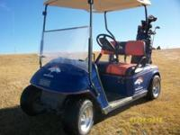 97 custom Denver Broncos golf cart. Two seasons on New