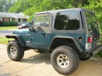 1997 Jeep Wrangler.. runs great... lifted with new