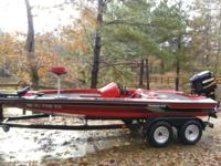 boat is in awesome condtion and ready to fish, its very