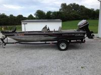 98 bass tracker pro team 175 with 60 horse mercury