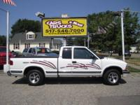 Very nice 1998 Chevrolet S10. This pickup truck is a 2
