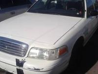 Crown Vic, former police car from Payson for sale.