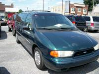 6cyl,automatic,van,3.8L,FWD,light green,cold a/c,p.door